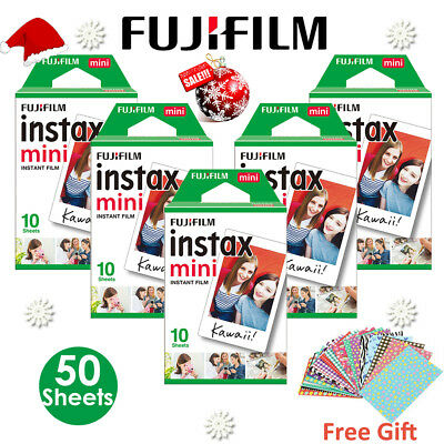 Fuji Fujifilm Instax Mini White 50 Instant Film For 7s 8 9 25 50s 70 90 SP-1 AU