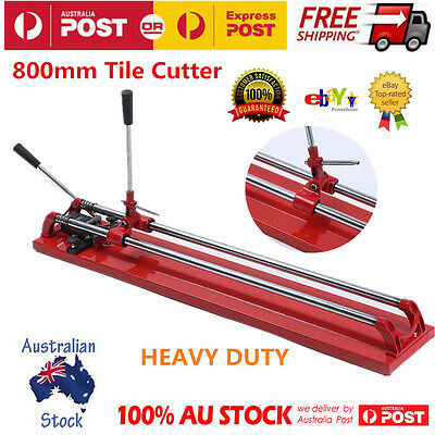 800MM Heavy Duty Manual Tile Cutter Ceramic Porcelain Cutting Machine Hand Tool