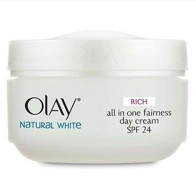 Olay Natural White Day Cream Skin Whitening with Sunscreen SPF 24 50g
