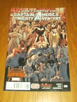 Captain America And The Mighty Avengers #8 Marvel Comics Nm (9.4)
