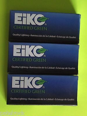 Eiko lamp bulbs #47 3x box of 10 / light bulbs