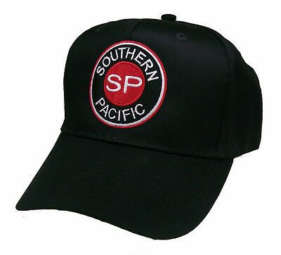 Southern Pacific SP Railroad Embroidered Cap Hat #40-3090