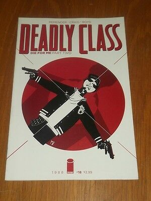 Deadly Class #18 Image Comics January 2016 Nm (9.4)