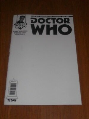 Doctor Who #1 Twelfth Doctor Year Two Titan Blank Variant February 2016 Nm (9.4)