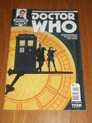 Doctor Who #4 Twelfth Doctor Year Two Titan Comics Cover A April 2016 Nm (9.4)
