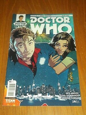 Doctor Who #5 Tenth Doctor Year Two Titan Comics Cover A February 2016 Nm (9.4)