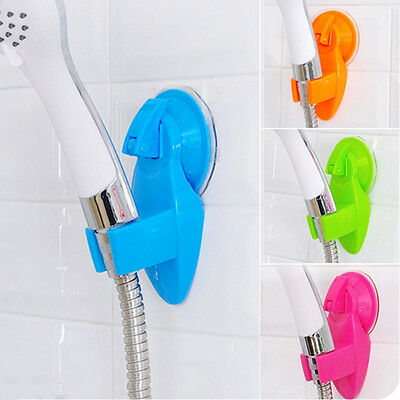 Powerful suction type Hose seat chuck holder shower head fixed bracket