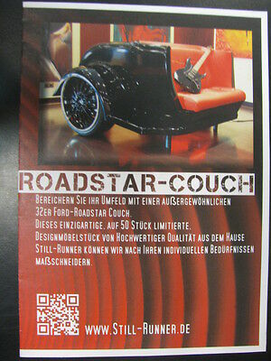 Brochure Roadstar-Couch (Duits)