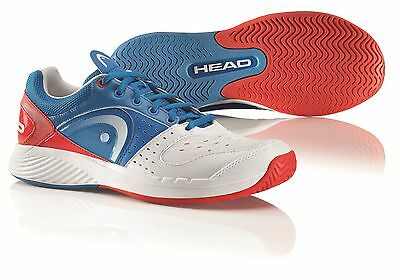 HEAD SPRINT TEAM MENS BLUE/WHITE/RED tennis court shoes sneakers - Auth Dealer