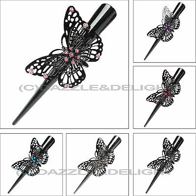 Butterfly Hair Clips Beak Clip Concorde Clamps Slides Claw Butterfly Beak Clip