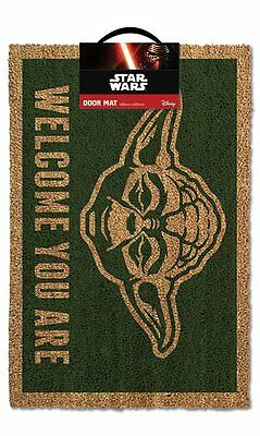 Official Licensed STAR WARS (YODA Welcome You Are) - Door Mat GP85052