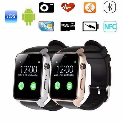 Waterproof GT88 NFC Bluetooth Smart Wrist Watch SIM Card For Android Phone Mate
