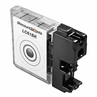 New LC61 LC61BK Black Printer Ink Cartridge for Brother DCP-165c