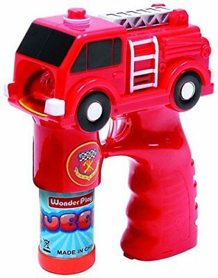 Battery Operated Fire Truck Bubble Gun With Light And Music