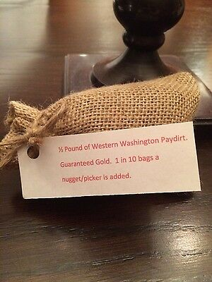 1/2 Pound Gold Paydirt Liberty Wire Gold -May contain pickers-