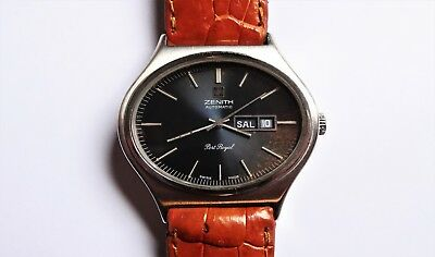 ZENITH Port Royal vintage watch automatic RARE