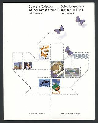 1988 Year Set Of Mnh Stamps (No Book) Free Shipping To Canada