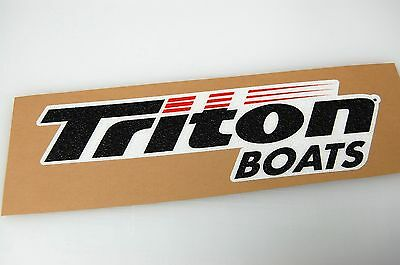 TRITON BOATS - Bass Boat Carpet Graphic - Multiple Sizes - Decal Logo