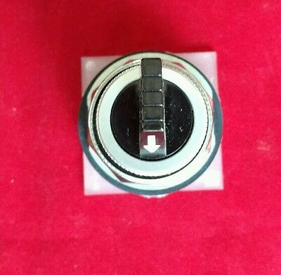 Square D 9001 KS43B 3-Position Maintained Selector Switch Blk