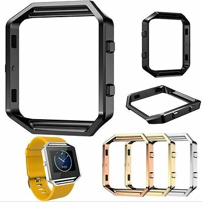 Stainless Steel Watch Holder Replacement Metal Casing Frame For Fitbit Blaze