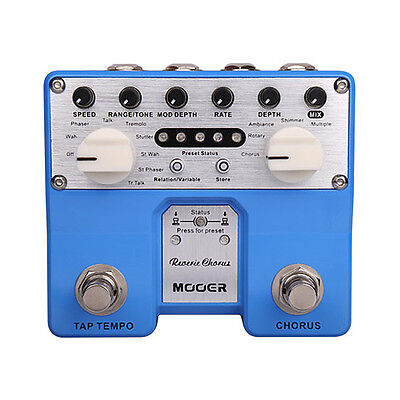 Mooer Reverie Chorus Digital Chorus Pedal Electric Guitar TCH1