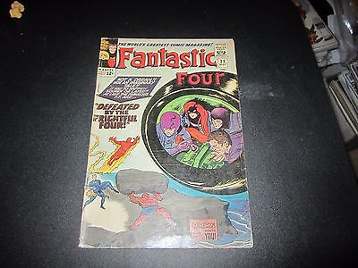 Fantastic Four #38 Awesome Early Medusa And Inhumans Appearance !!