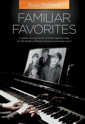 Piano Playbook - Familiar Favourites Book *NEW* Sheet Music, 35 Solos, Ringbound