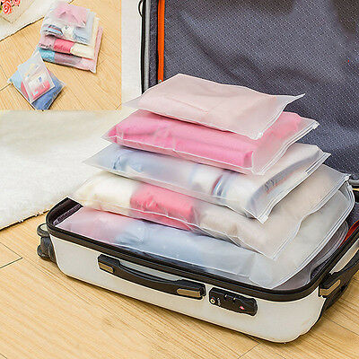 7-Size Waterproof Clothes Storage Bags Packing Cube Travel Luggage Organizer Bag