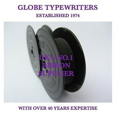 1 x 'OLIVETTI M44' *PURPLE* TOP QUALITY *10METRE* TYPEWRITER RIBBON + *EYELETS*