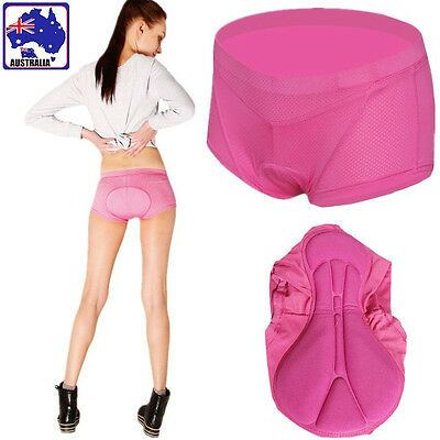 M L XL XXL Women Bicycle Cycling Underwear Padded Bike Short Pants Pink CPAN115