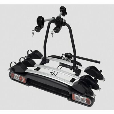 M-Way Nighthawk Plus 3 Bike / Cycle 50mm Towball/Towbar Carrier Rack -  BC3023