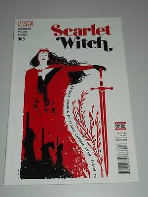 Scarlet Witch #5 Marvel Comics Nm (9.4)