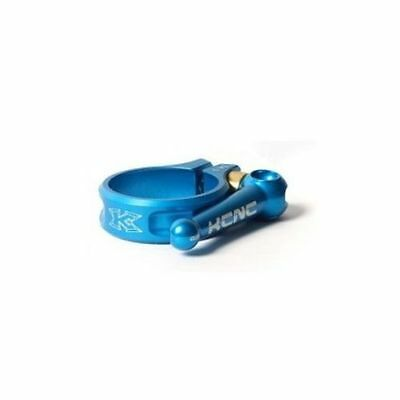 KCNC SC10 AL7075 Mountain Road Bike Quick Release Seatpost Clamp 31.8mm - Blue