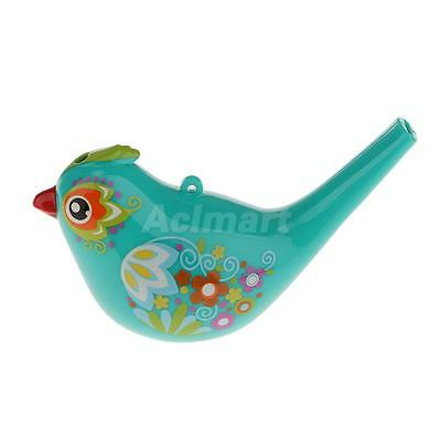 Coloured Drawing Water Bird Whistle Bath Play Musical Toy for Kid Toddler