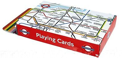London Underground Map set of playing cards (ba)