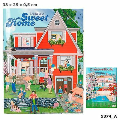 Depesche Create your Sweet Home Stickerbuch Sticker Bastelbuch 8491_A NEU