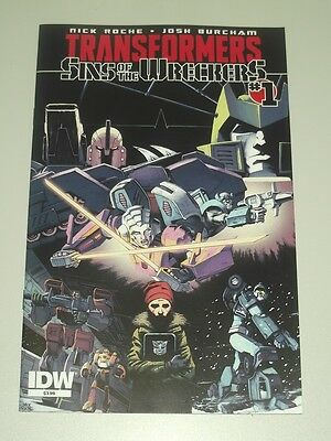 Transformers Sins Of The Wreckers #1 Idw Comics Nm (9.4)