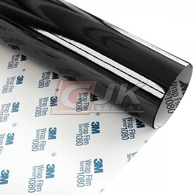 3M 1080 Black Gloss Car Wrap Vinyl G12 152x110cm