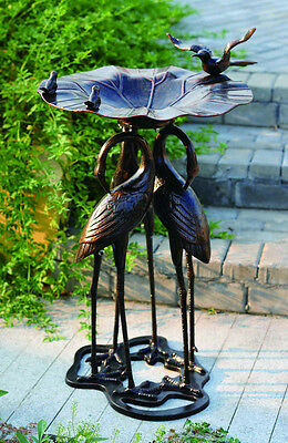 Pier Surplus Three Crane Bird Bath