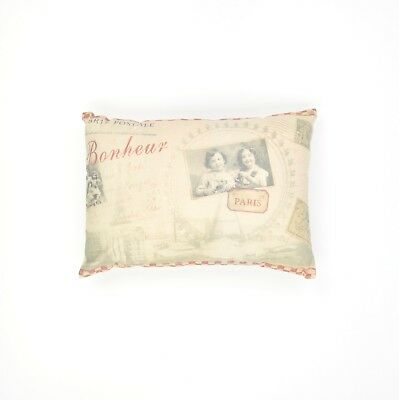 In Love With Paris Vintage French Cushion Cover Cushion Pillow Throw Cushion For