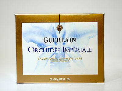 Guerlain Orchidee Imperiale Excepcional Complete Care Rich Creme 50 Ml.