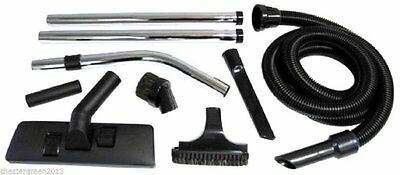 Complete 1.8m Vacuum Cleaner Tool Accessories Kit for Numatic Hoovers, Henry etc