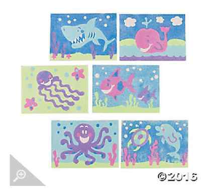 Ocean Themed Sand Art Kit - Individually wrapped and ready to go.