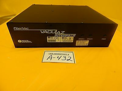 Particle Measuring Systems VacuLaz Interface Module FiberVac Used Working