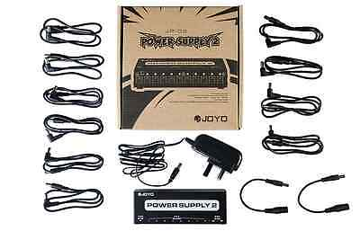 Joyo JP-02 10 Isolated Outputs 9V / 12V / 18V power supply guitar effects pedals