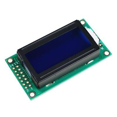 0802 8X2 characters LCD module Green  backlight NEW CA