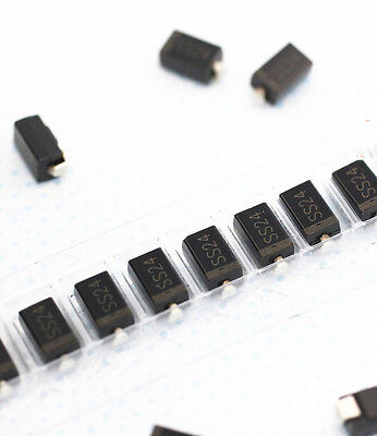 20pcs 1N5822 SS24 DO-214AA, SMB DIODE SCHOTTKY 2A 40V TOSHIBA NEW
