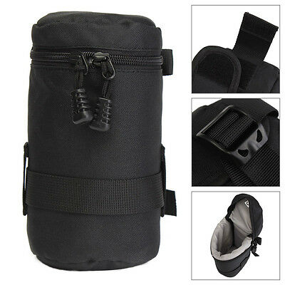 Waterproof Protective Camera Lens Bag Case Pouch Protector For Canon Sony D/SLR