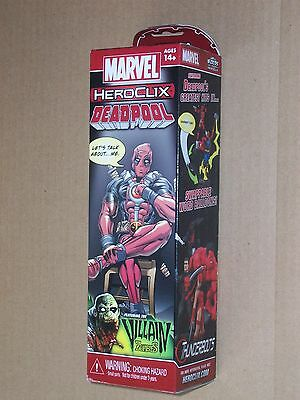Deadpool Heroclix 5 figure booster pack New Sealed