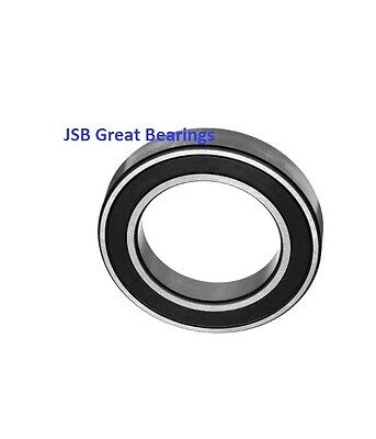(Qty.10) 6807-2RS two side rubber seals bearing 6807-rs ball bearings 6807 rs
